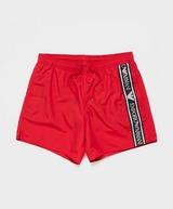 Emporio Armani Loungewear Tape Logo Swim Shorts