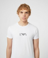Emporio Armani Loungewear 2-Pack of Central Logo T-Shirts