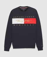 Tommy Hilfiger Signature Flag Sweatshirt