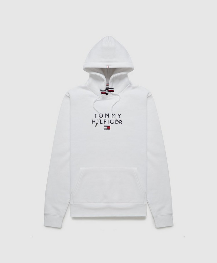 Tommy Hilfiger Stacked Embroidered Flag Hoodie