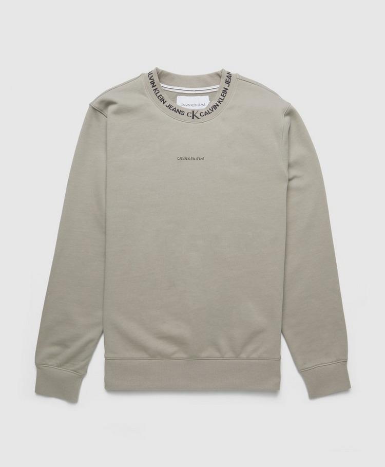Calvin Klein Jeans Logo Jacquard Sweatshirt