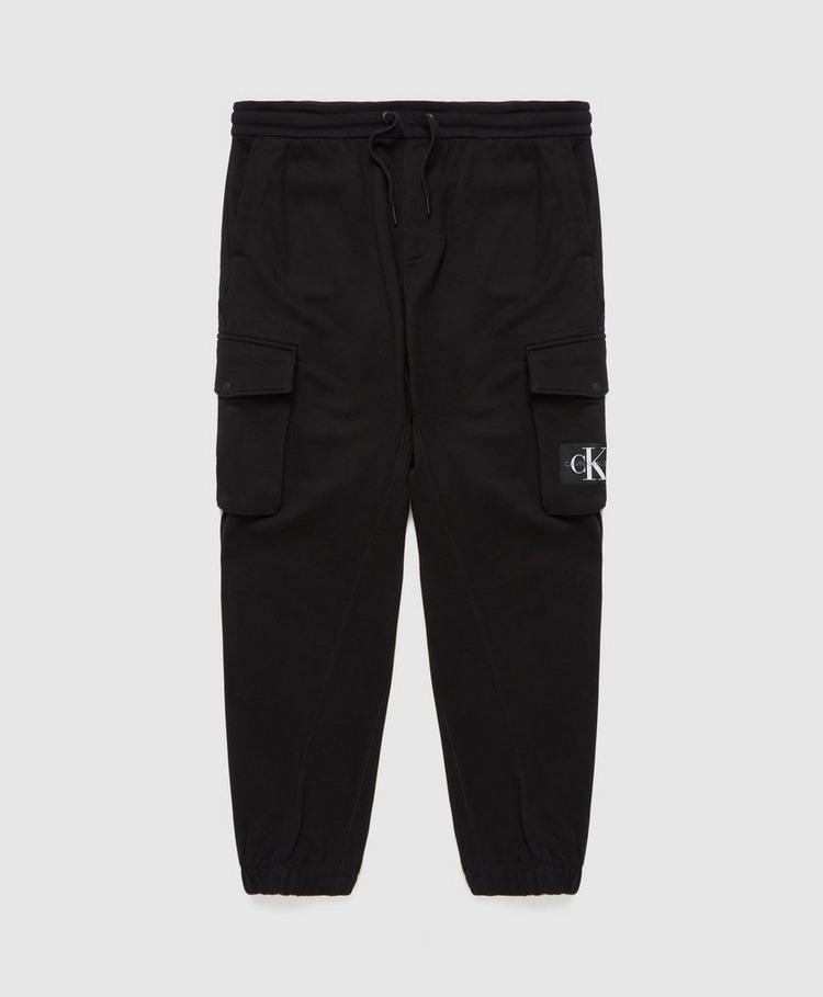 Calvin Klein Jeans Badge Fleece Cargo Pants