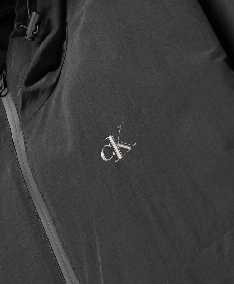 Calvin Klein Jeans Tonal Logo Hooded Jacket