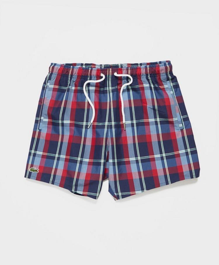 Lacoste Madras Swim Shorts