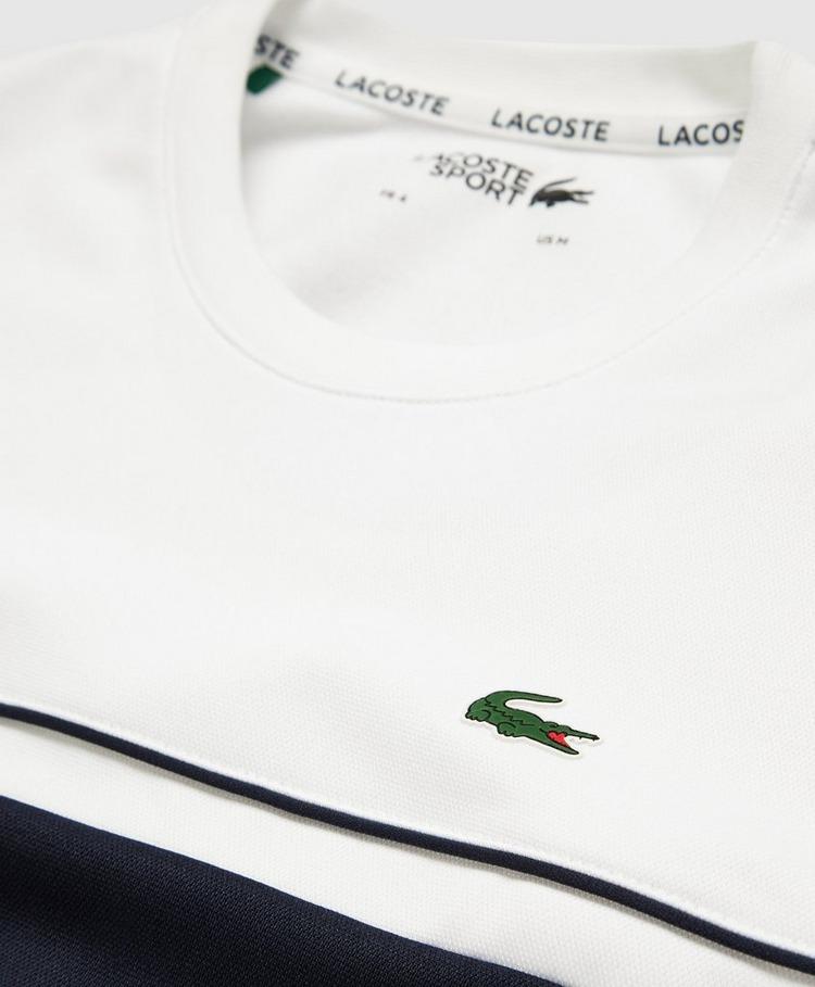 Lacoste Colour Block Poly Sweatshirt