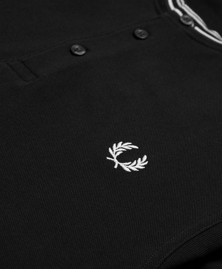 Fred Perry Stripe Henley Polo Shirt