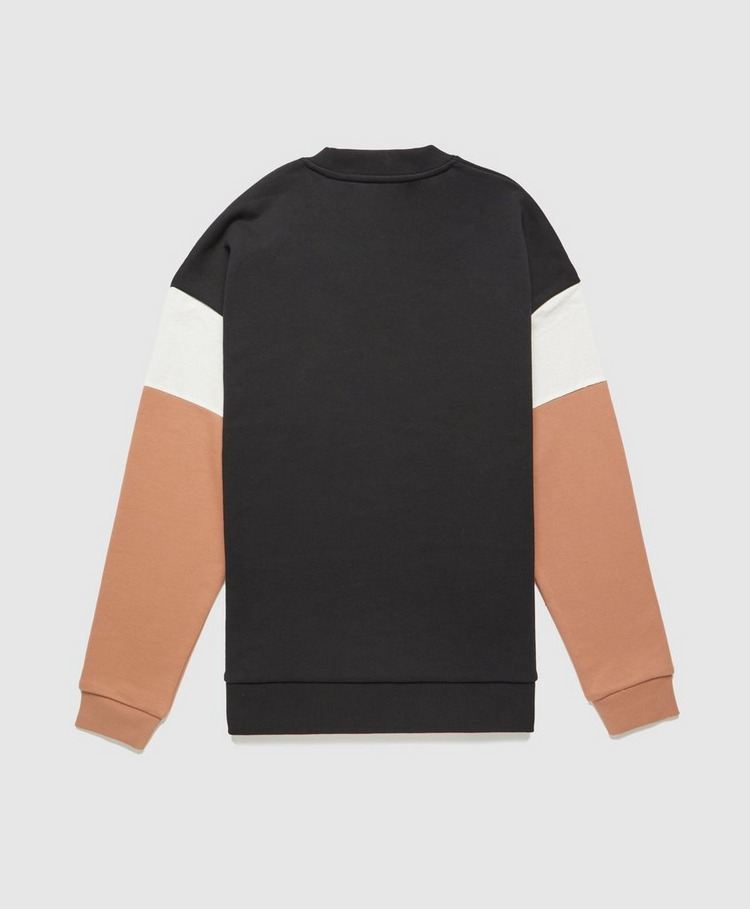 Fred Perry Woven Colour Block Sweatshirt