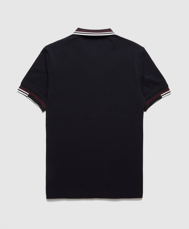 Fred Perry Abstract Tipped Polo Shirt