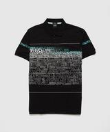 BOSS Paddy Text Print Polo Shirt