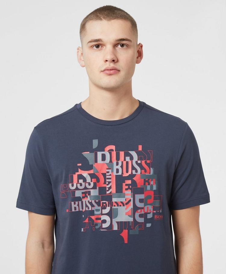 BOSS Letter Mash T-Shirt
