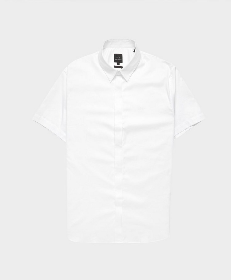 Armani Exchange Concealed Button Shirt