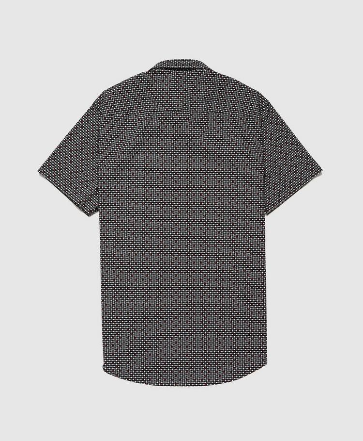 Armani Exchange All Over Micro Print Shirt