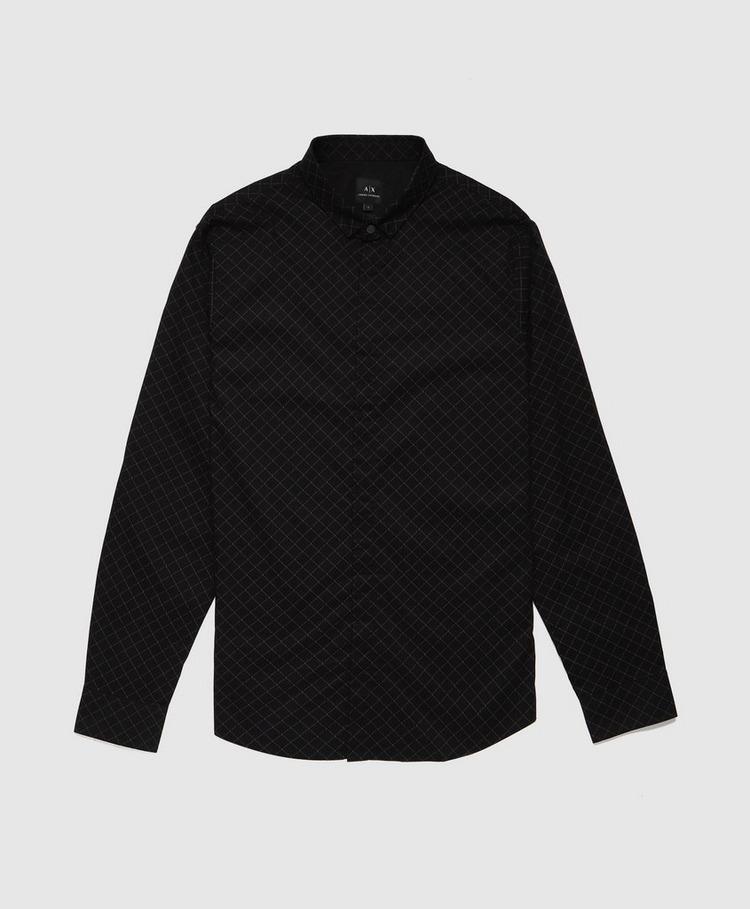 Armani Exchange All Over Diamond Shirt