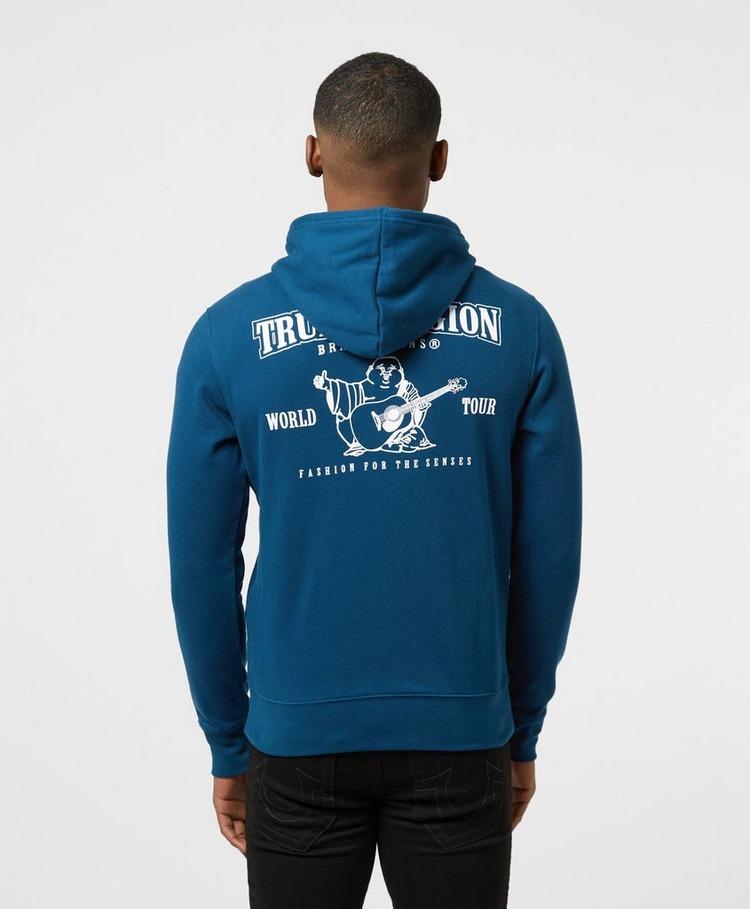 True Religion Core Logo Zip Hoodie