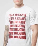 True Religion Stacked Logo T-Shirt