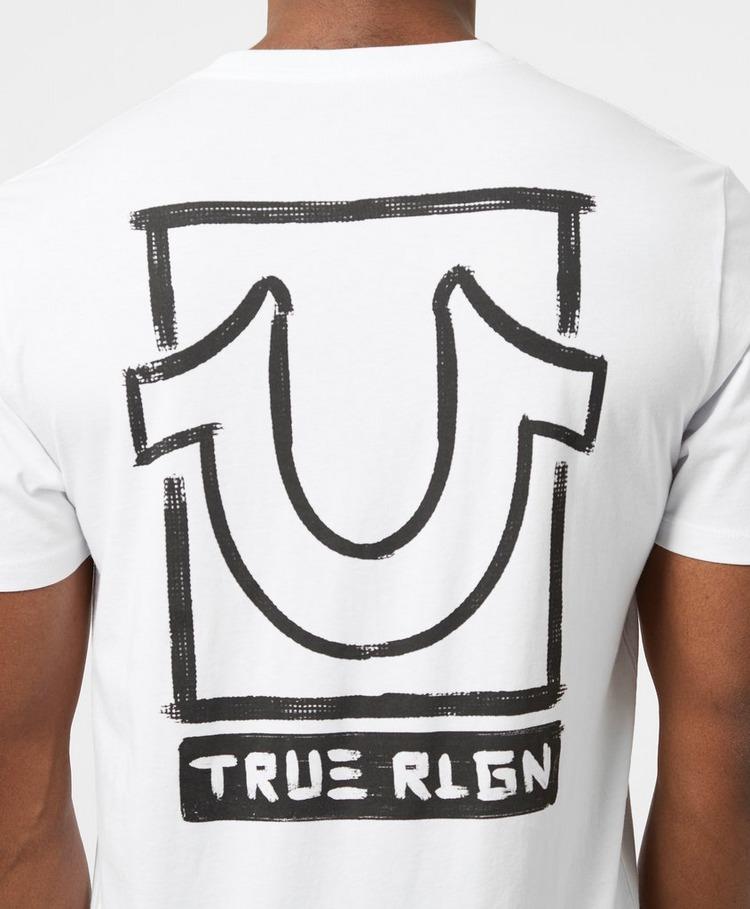 True Religion Vertical Logo T-Shirt