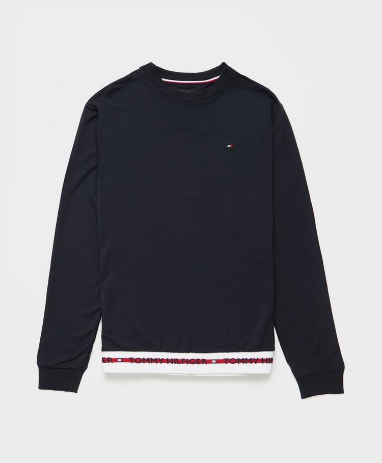 Tommy Hilfiger Loungewear Taped Hem Sweatshirt