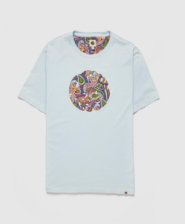 Pretty Green Thornley Paisley Logo T-Shirt