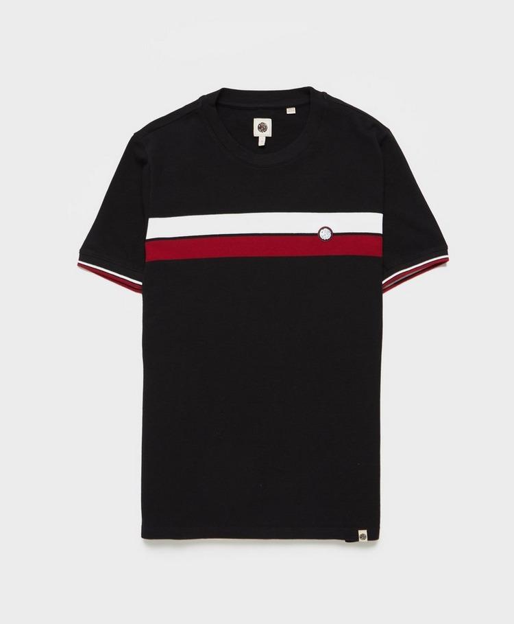 Pretty Green Rourke Chest Stripe T-Shirt