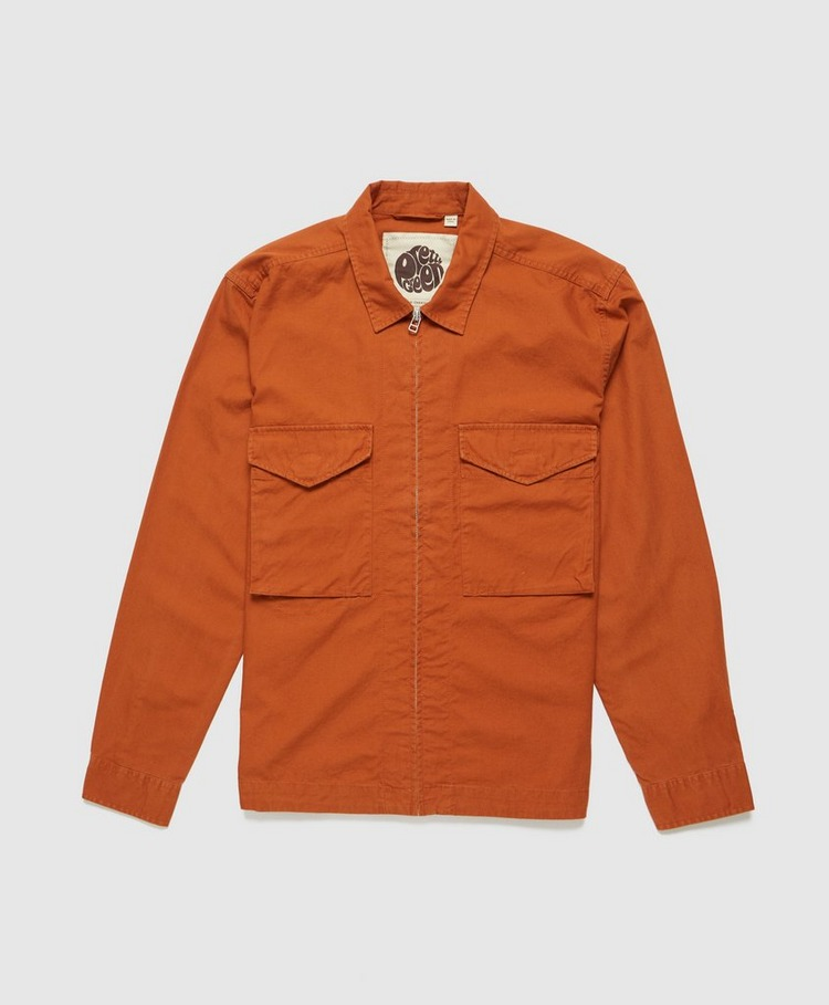 Pretty Green Connor Cotton Ripstop Overshirt