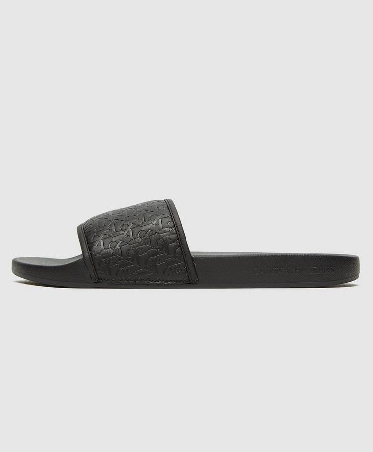 Calvin Klein Jeans All Over Embossed Slides