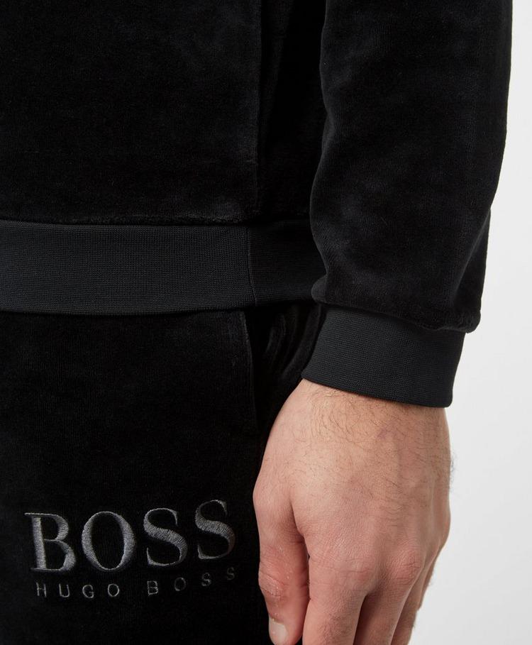 BOSS Velour Crew Sweatshirt