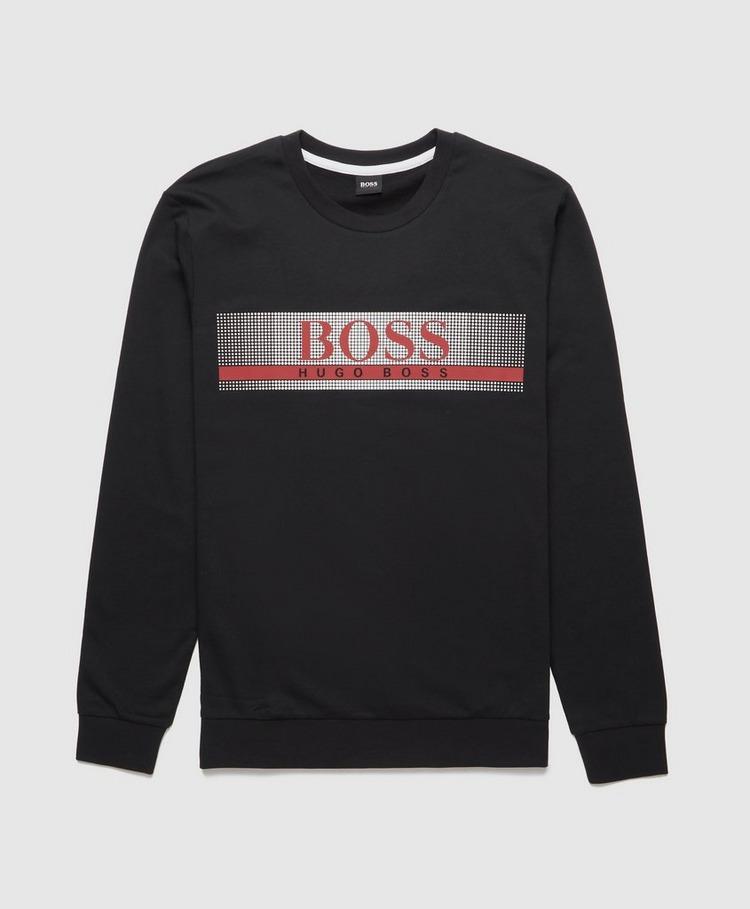 BOSS Authentic Grid Sweatshirt
