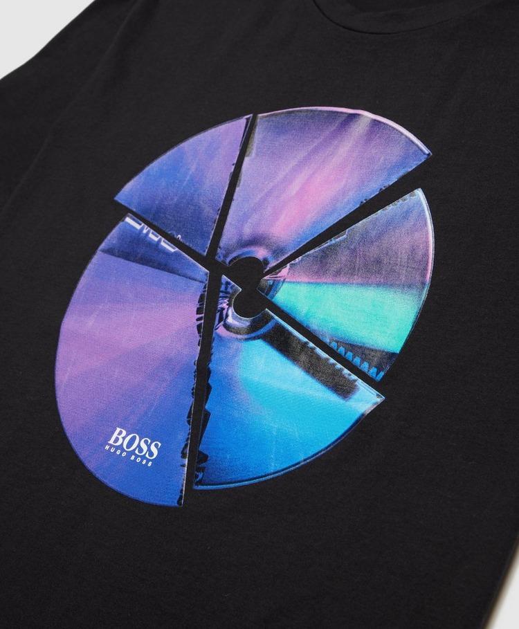 BOSS Iris Cracked T-Shirt