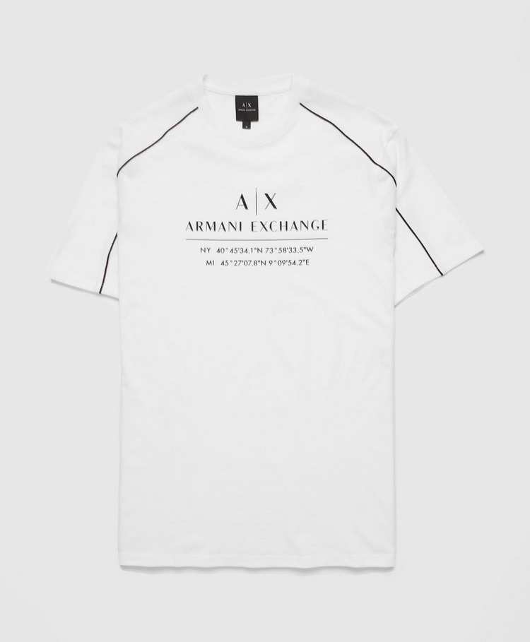 Armani Exchange Contrast Piping T-Shirt