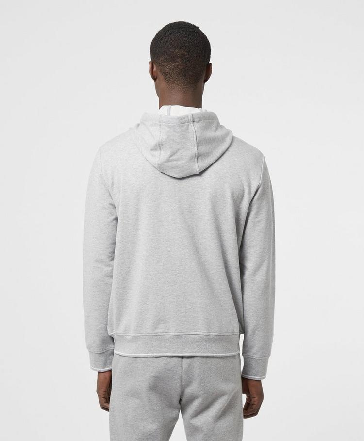Armani Exchange Zip Logo Hoodie