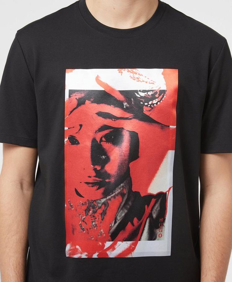 HUGO Dangur Face T-Shirt