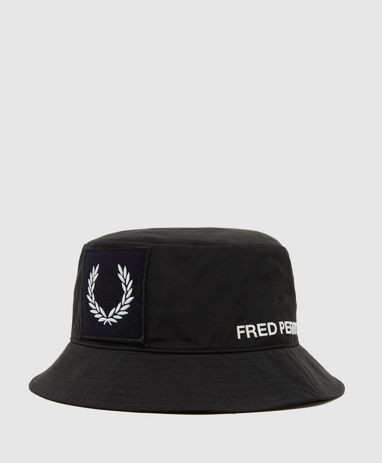 Fred Perry Branded Bucket Hat