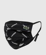 Lacoste Logo Print Face Covering