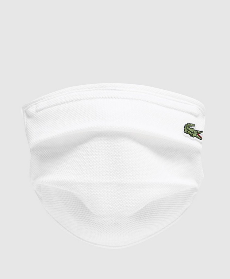 Lacoste Adjustable Face Covering