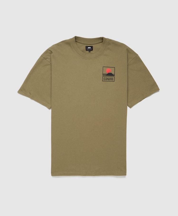 Edwin Sunset Fuji T-Shirt