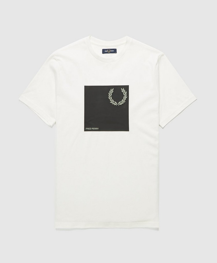 Fred Perry Box Print T-Shirt