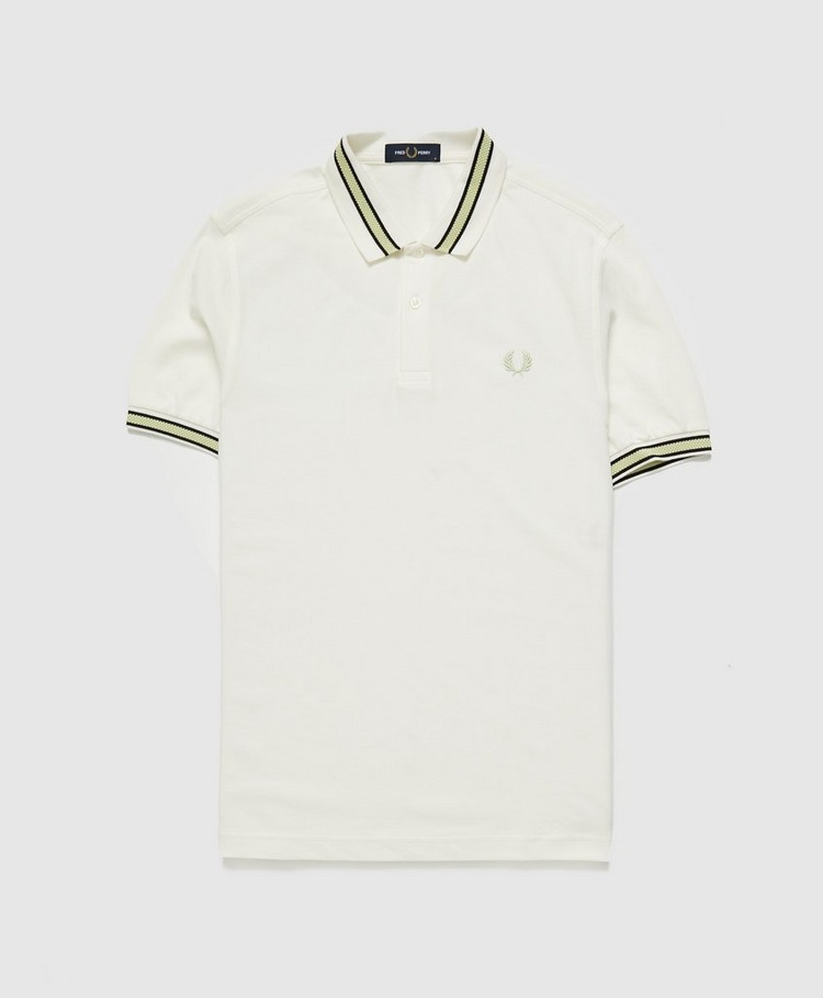 Fred Perry Textured Tipped Polo Shirt