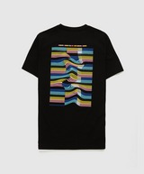 Fred Perry Wave Back Print T-Shirt