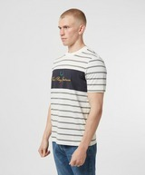 Fred Perry Embroidered Striped T-Shirt