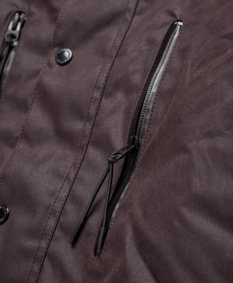 Barbour International Afton Wax Jacket