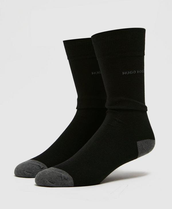 BOSS Logo Stripe Socks