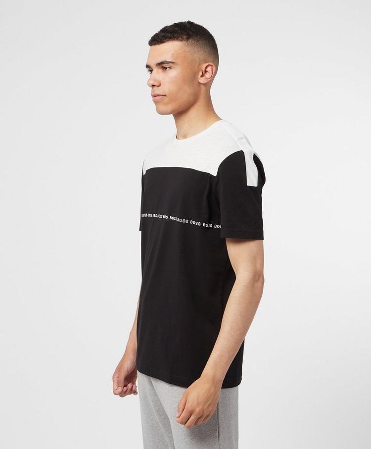 BOSS Colour Block Linear T-Shirt