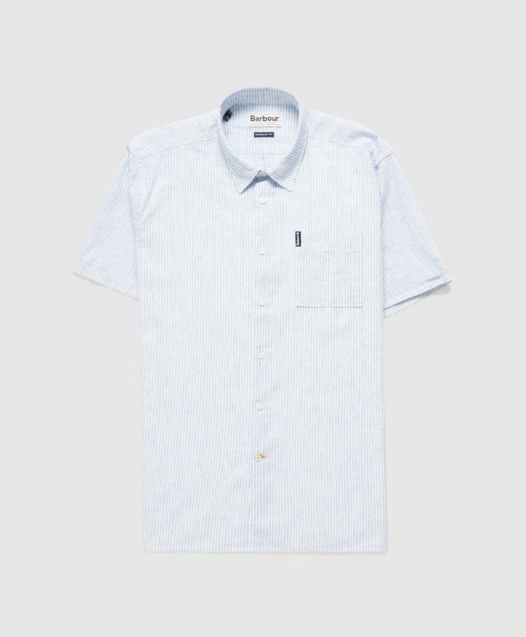 Barbour Linen Stripe Shirt