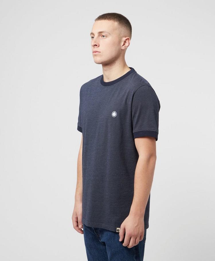 Pretty Green Birdseye Tipped T-Shirt