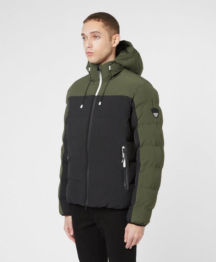 Emporio Armani EA7 Colour Block Padded Jacket