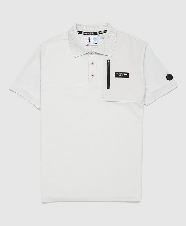 North Sails NC36 by Prada Panel Pocket Polo Shirt