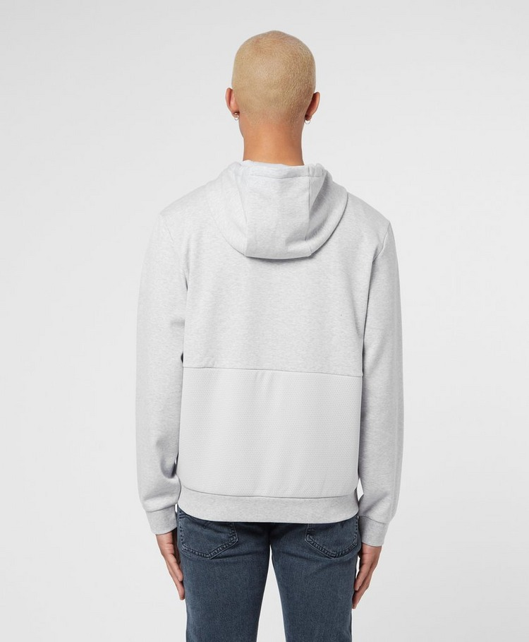 Lacoste Mesh Panel Full Zip Hoodie