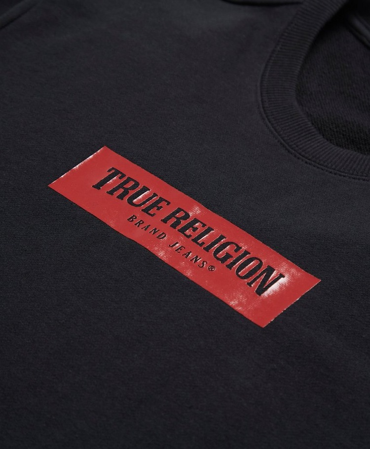 True Religion Central Box Sweatshirt