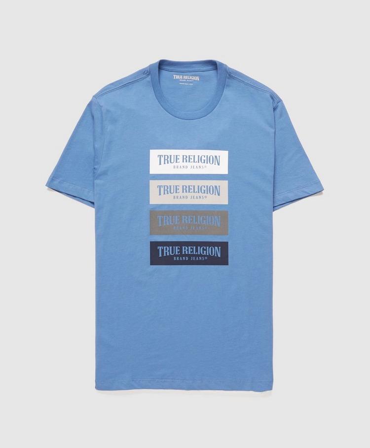 True Religion Qaud Box Logo T-Shirt