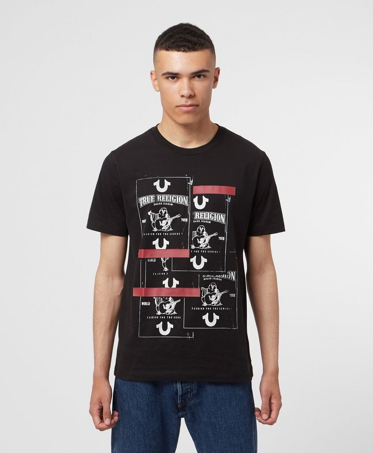 True Religion Buddha Stacked T-Shirt